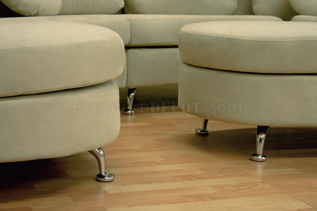 Half moon sectional sofa refil sofa Rattan sofa gebraucht