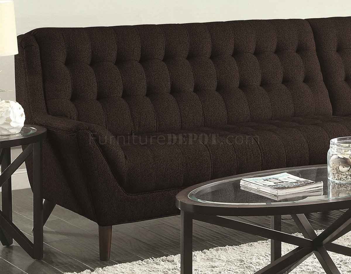 Amazing Natalia Sectional Sofa 503778 In Black Fabric By Coaster Gmtry Best Dining Table And Chair Ideas Images Gmtryco