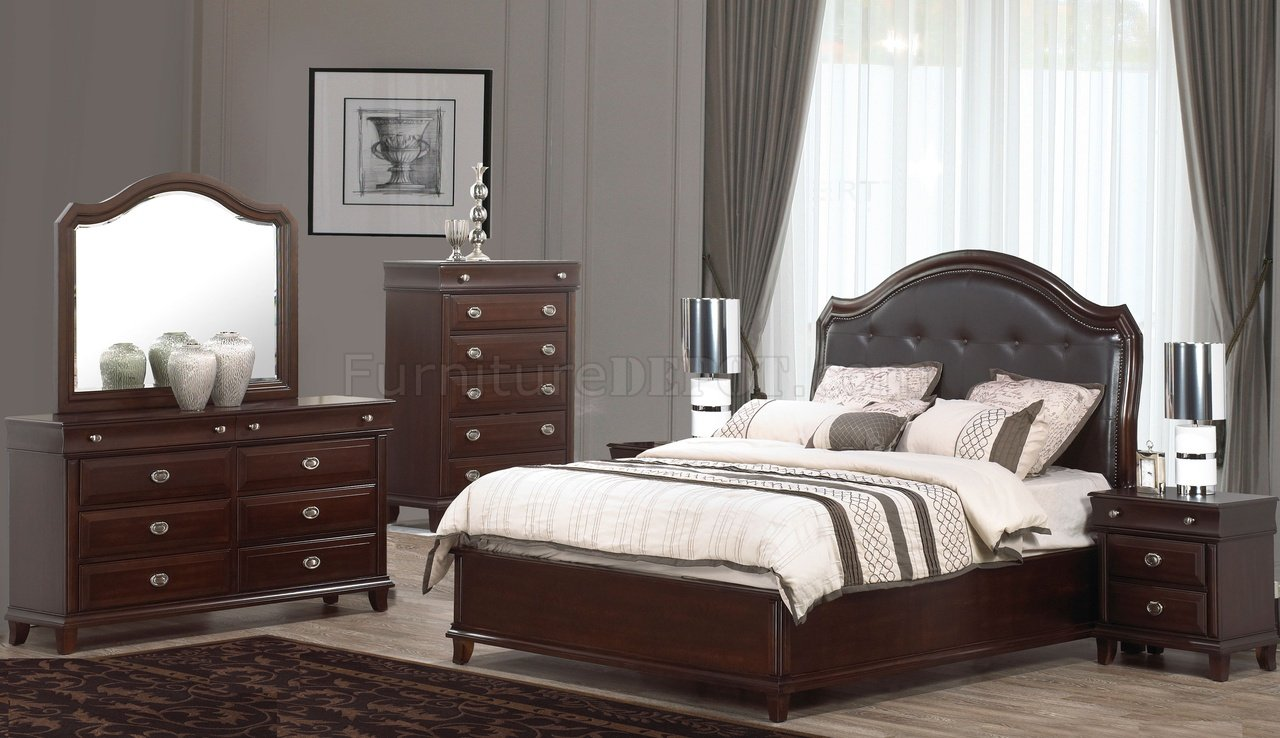 Tango 5pc Bedroom Set W Tufted Headboard Amp Options