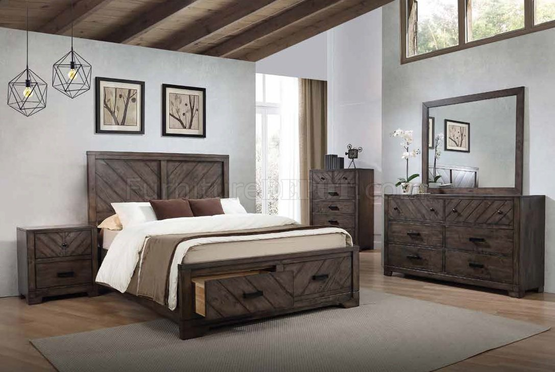 Strange Lawndale 5Pc Bedroom Set 206300 In Dark Brown Coaster W Option Download Free Architecture Designs Photstoregrimeyleaguecom