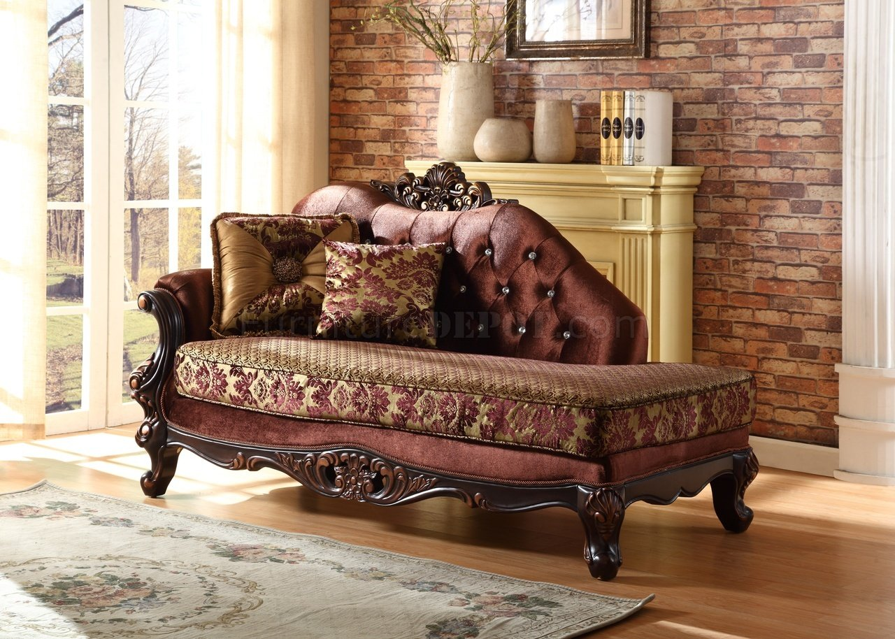 lyon chaise 685 in fabric w crystal tufting. Black Bedroom Furniture Sets. Home Design Ideas