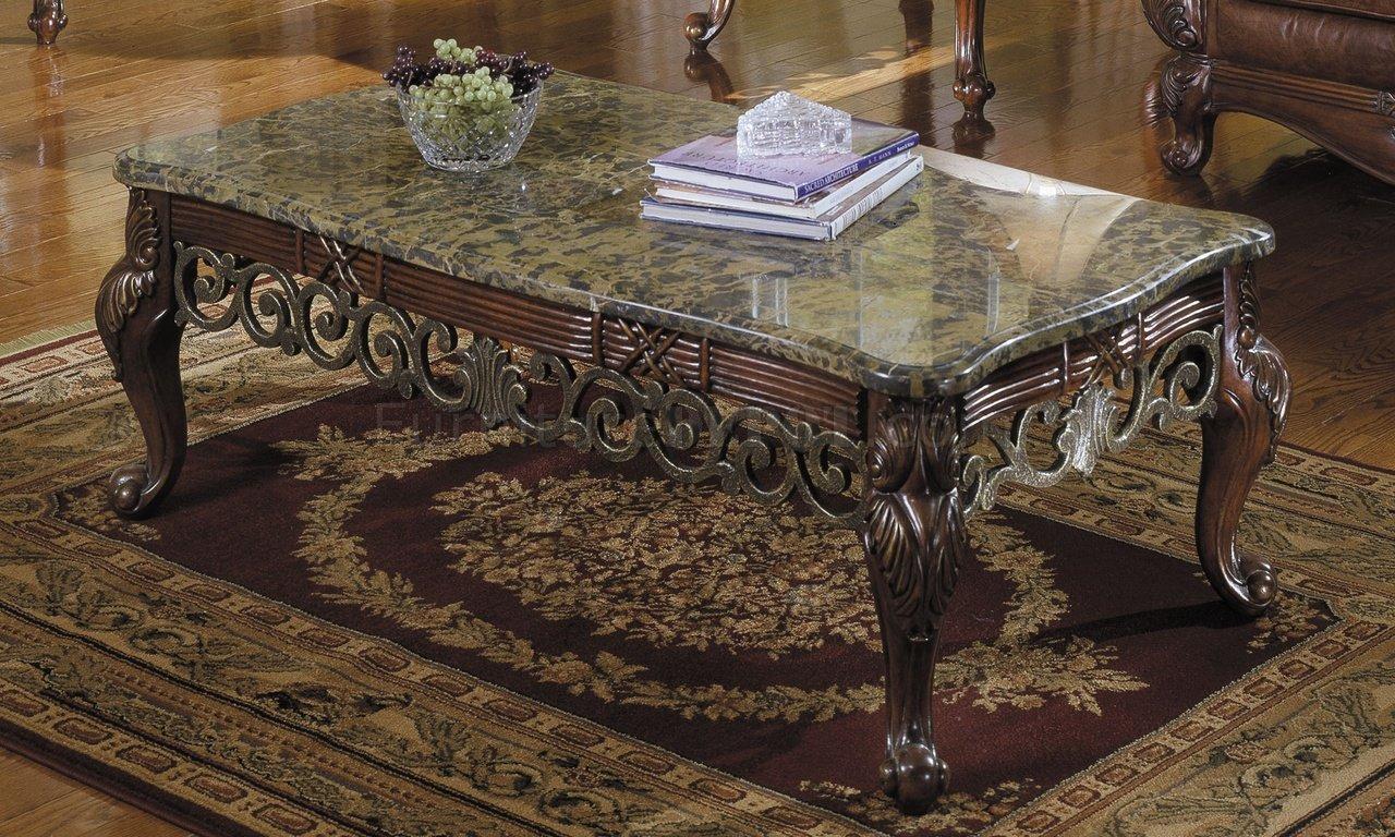 Barcelona 829 30n Coffee Table W Marble Top Options