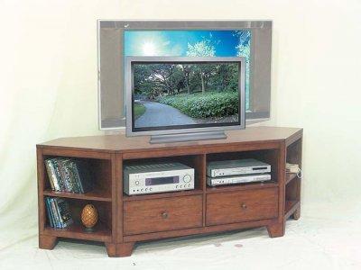Corner Tv Stand Cherry By Jens