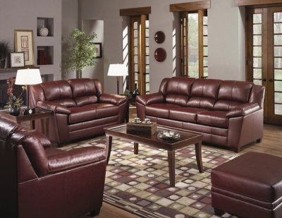 couches for bedrooms wine color bonded leather modern living room w wooden legs 11301