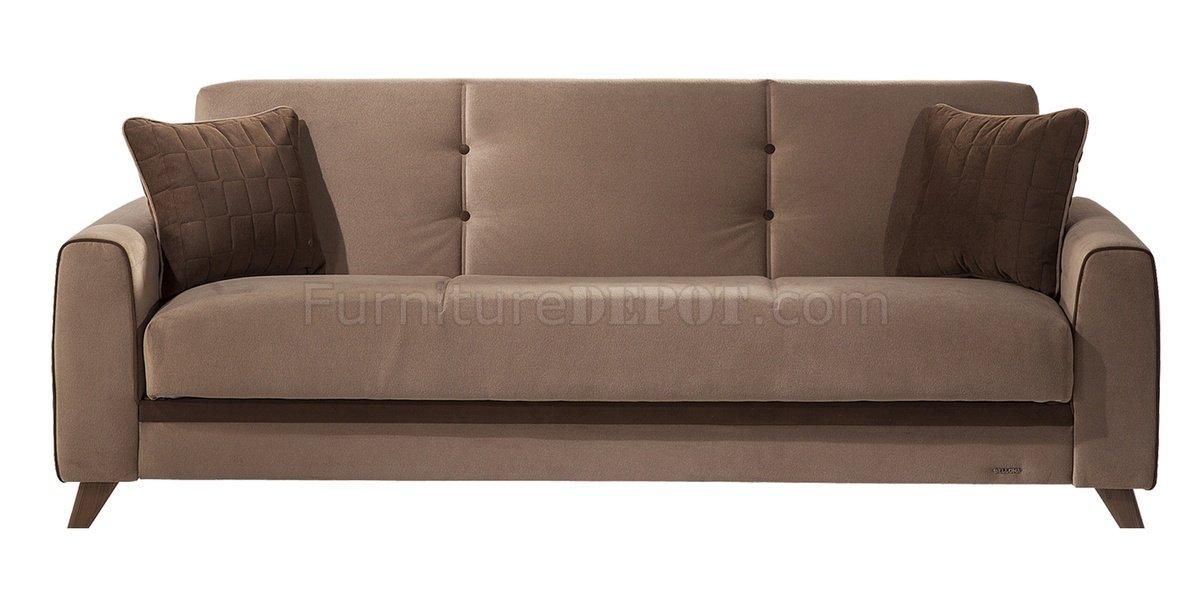 Light Sofa Bed Micro Fiber Armless Sofa Bed Thesofa