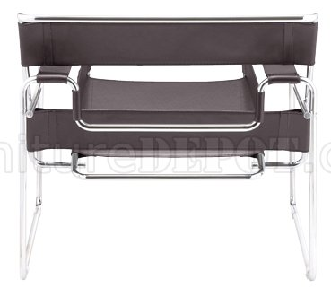 Choice Of Color Leatherette Chair W/Chrome Steel Tube Frame