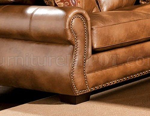 Sm5053 Birmingham Sofa In Leather Like Fabric W Options