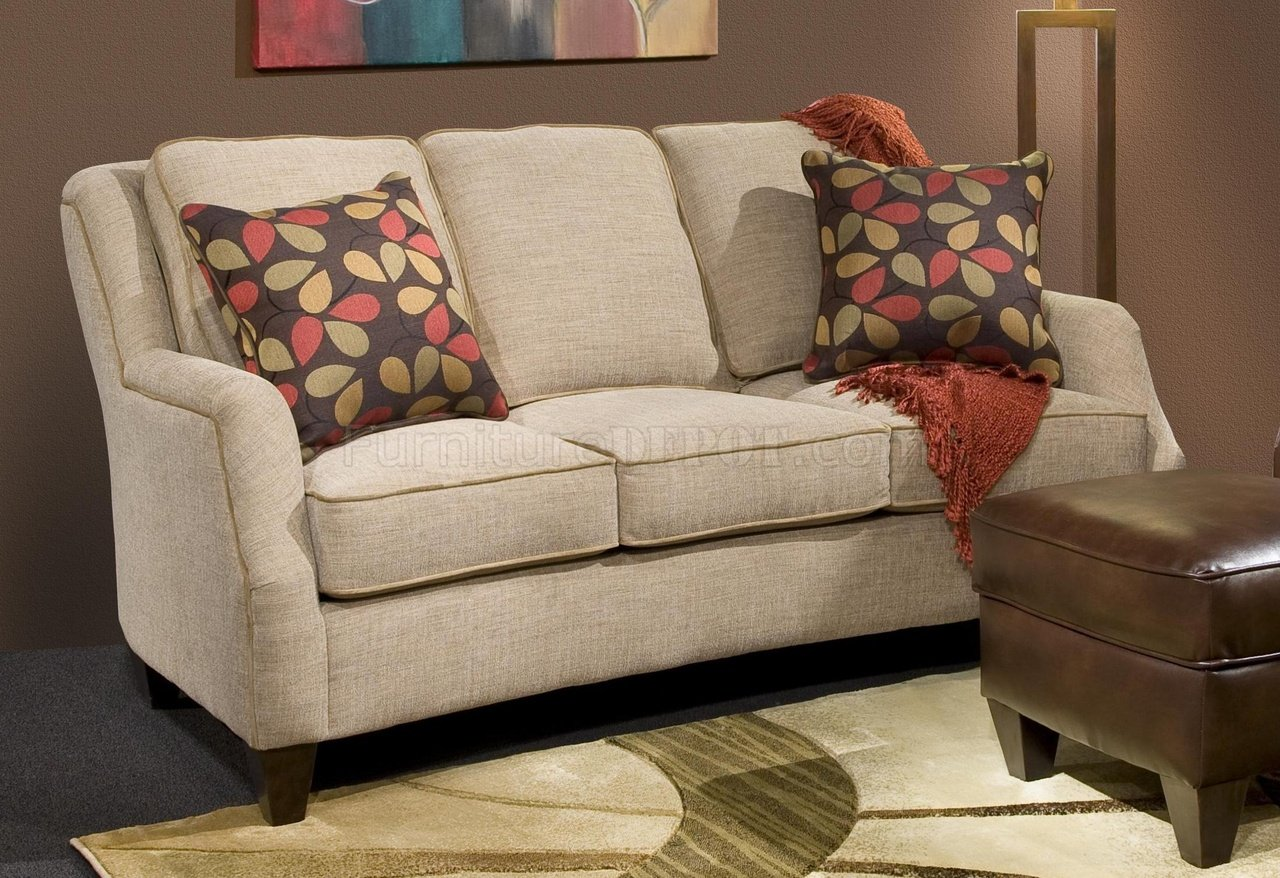272443 Russell Sofa In Sand Fabric By Chelsea W Options