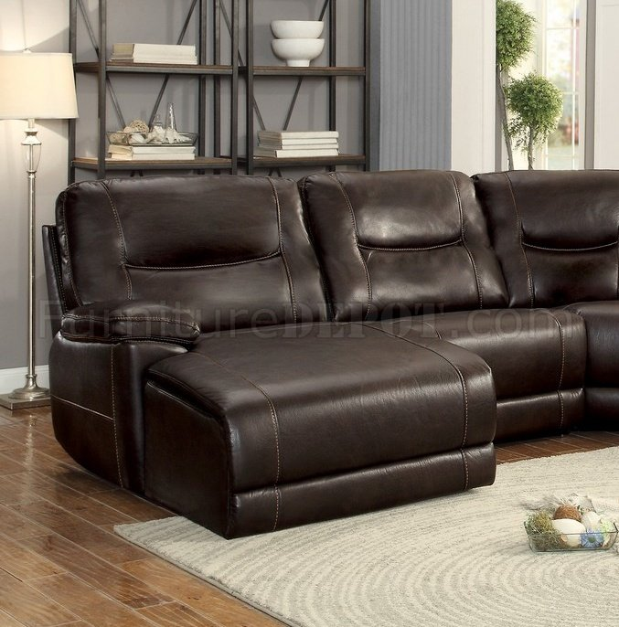 Columbus Motion Sectional Sofa 8490 6LCRR By Homelegance