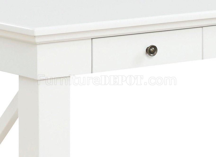Johansson 801381 Office Desk In Antique White By Donny Osmond