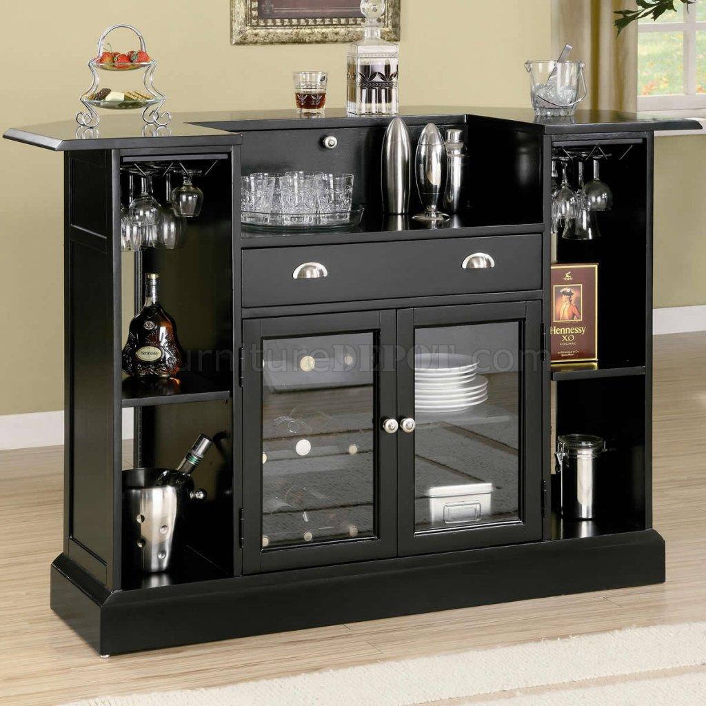black finish modern bar unit wwine rack  stemware storage. finish modern bar unit wwine rack  stemware storage