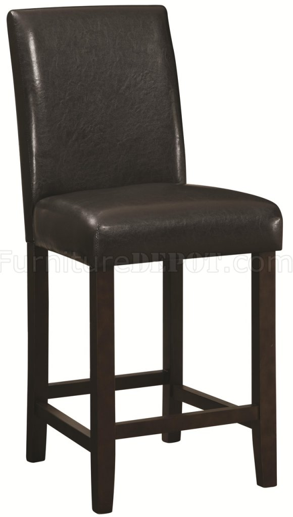 Counter Height Chairs Set Of 4 : 130059 Counter Height Chair Set of 4 in Dark Brown by Coaster CRDC ...