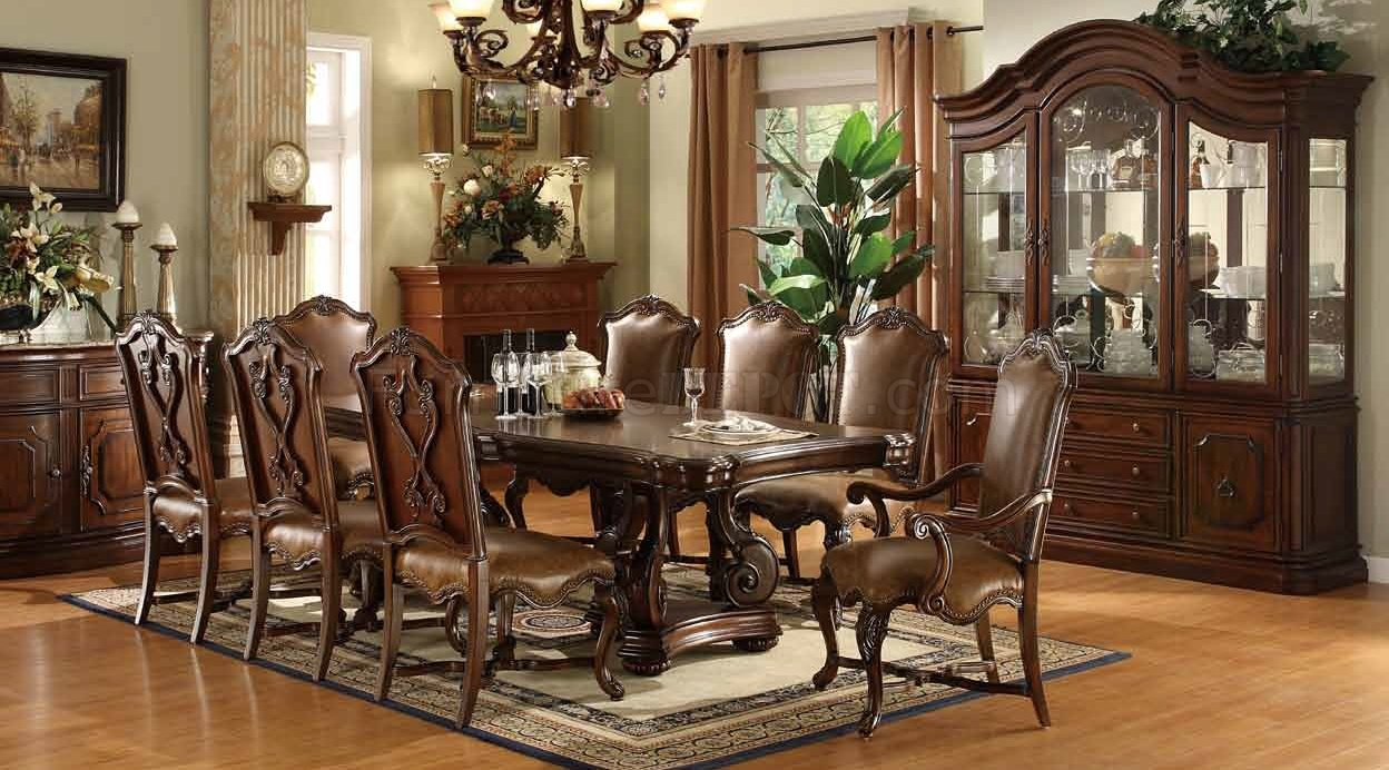 Lux Dining Set 5Pc W Optional Chairs Buffet With Hutch