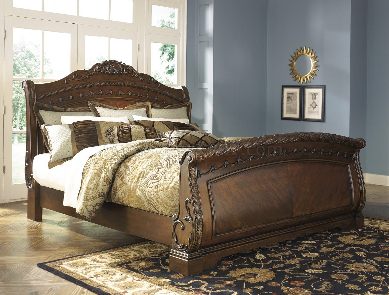 North Shore Bedroom B553 S Dark Brown By Ashley Furniture