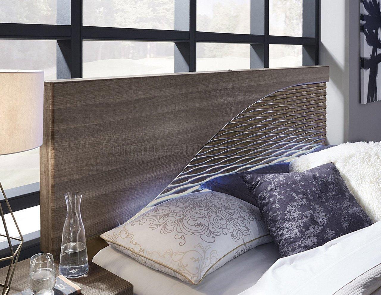 North Bedroom In Zebra Wood By Global W Optional Casegoods