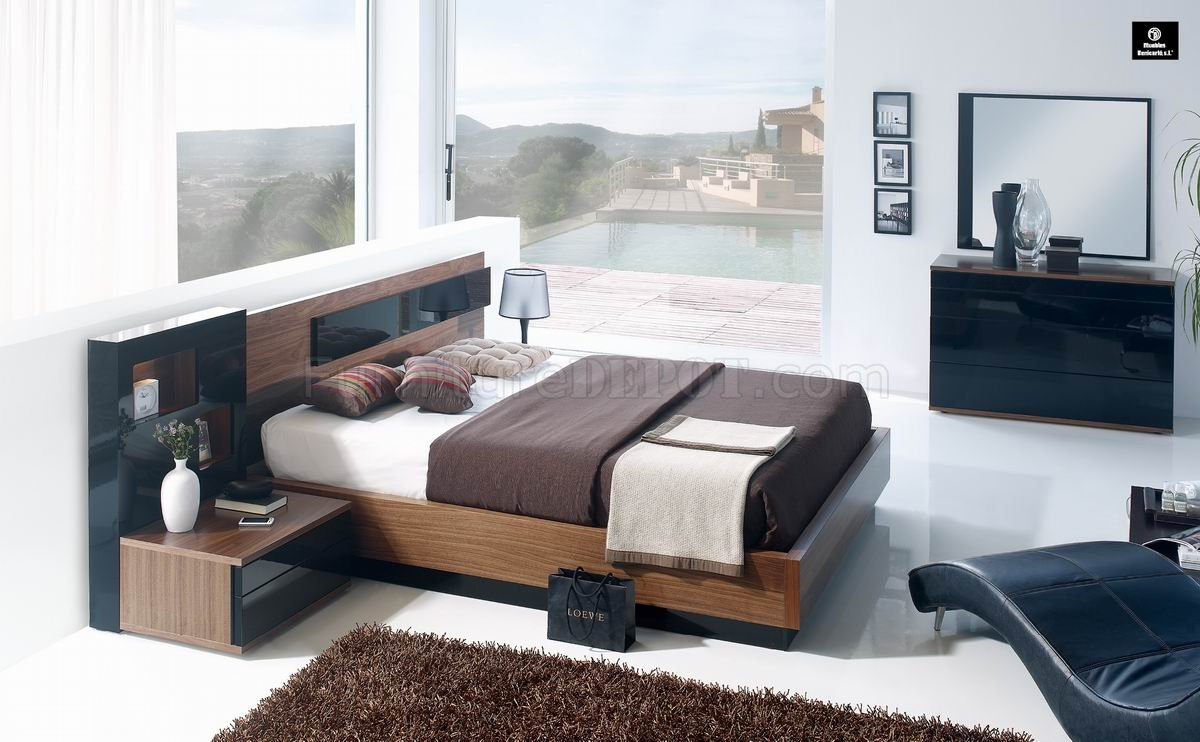 Modern Contemporary Bedroom Sets Modern Two Tone Finish Jana Bedroom By Camelgroup Italy
