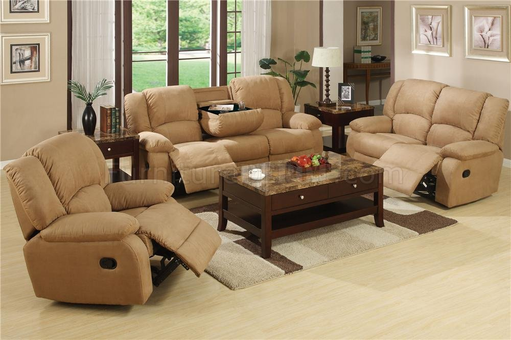 microfiber material for sofas on Mocha Or Java Microfiber Fabric Reclining Livng Room Sofa