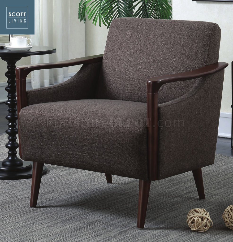 Fantastic 904045 Scott Living Coaster Brown Woven Accent Chair Andrewgaddart Wooden Chair Designs For Living Room Andrewgaddartcom