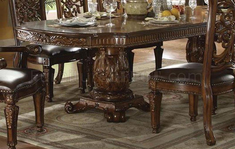 60000 vendome dining table in dark cherryacme