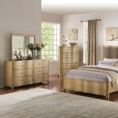 f9382 bedroom 5pc set in light wood by boss woptions new