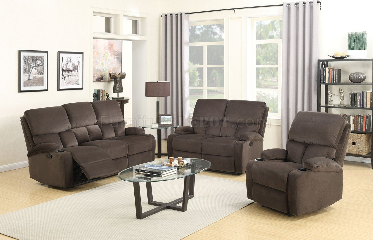 Bokair Manually Reclining Sofa 53890 In Dark Olive By Acme