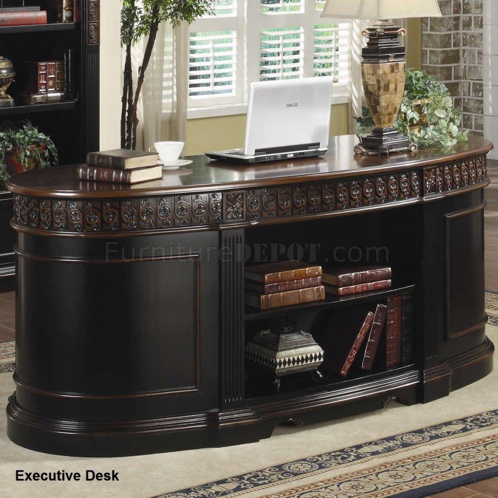 Rowan Office Desk 800921 Espresso Brown By Coaster W Options