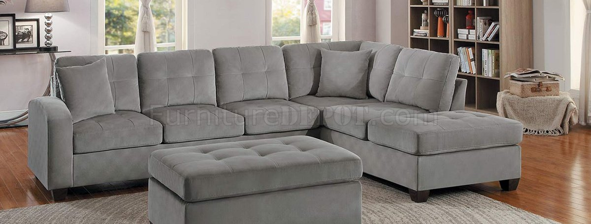 Phenomenal Emilio Sectional Sofa 8367Tp In Taupe Fabric By Homelegance Onthecornerstone Fun Painted Chair Ideas Images Onthecornerstoneorg