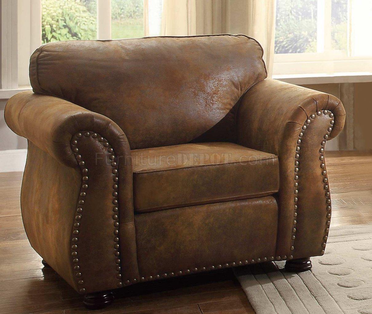 Sofa 8405BJ in Brown by Homelegance w/Options