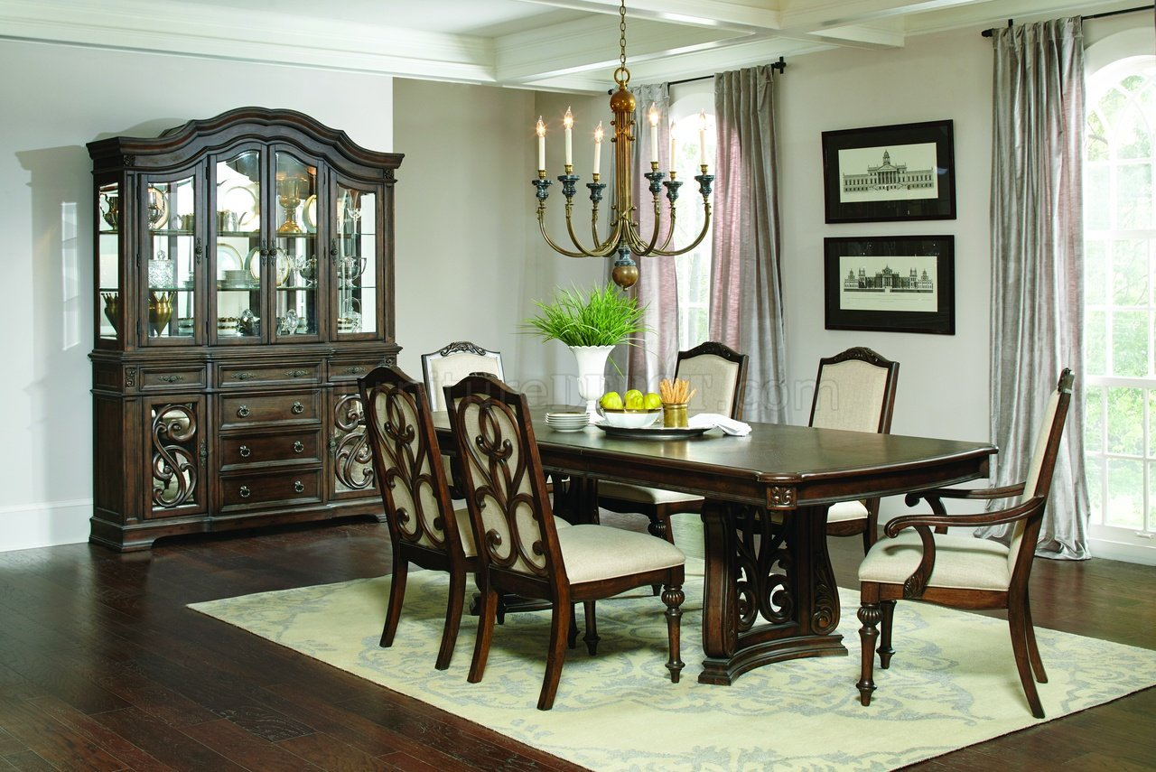 Ilana Dining Table 122251 In Antique Java By Coaster W Options