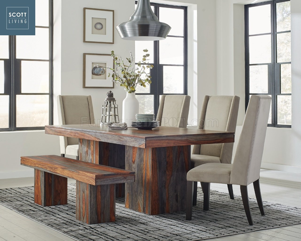Binghamton 107481 Scott Living Coaster Dining Table