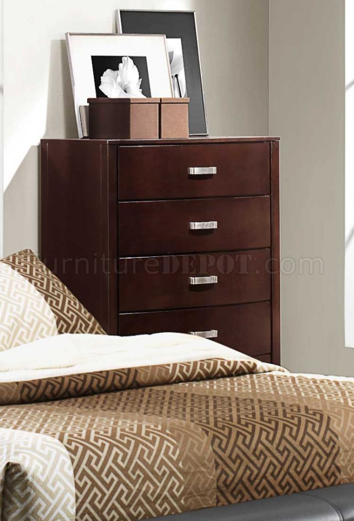 lyric 1737nc bedroom by homelegance in dark espresso w options
