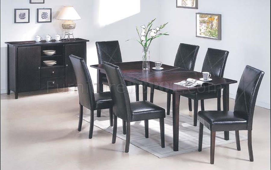 Finish Contemporary Dining Set With Extendable Table AMDS 110 9410