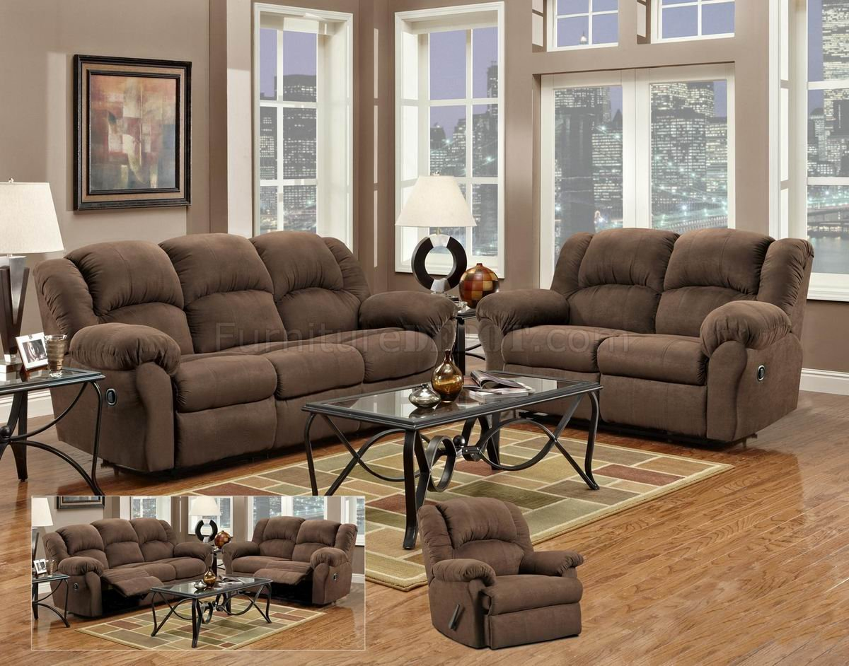 Sofa And Loveseat Recliner Set