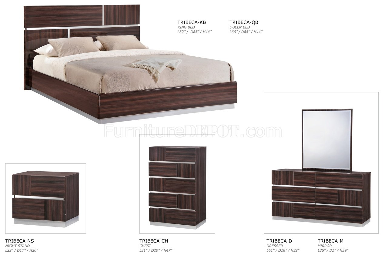 Bedroom Global w/Optional Casegoods