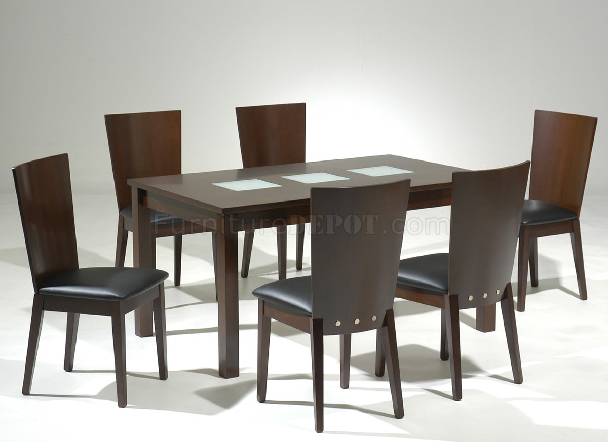 Dining Room Table Glass Inlay Images