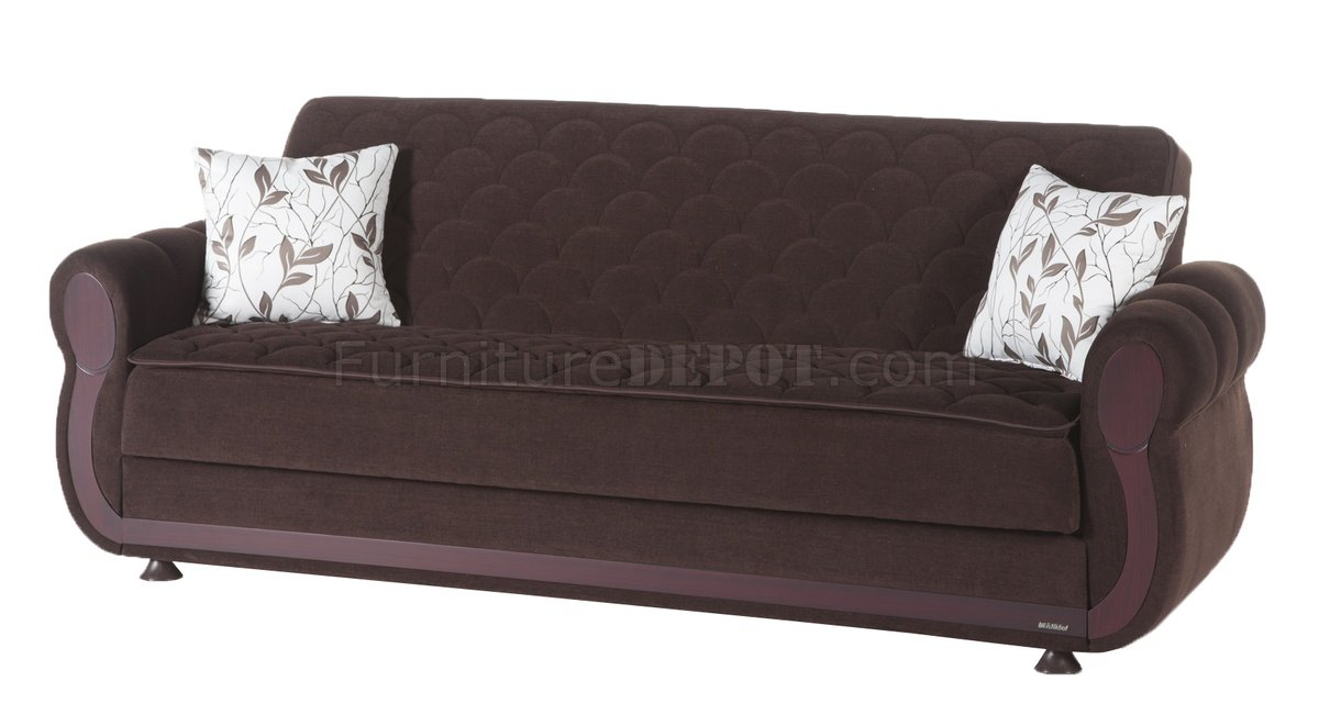 Argos colins brown sofa bed in fabric by sunset w options for Sofa table argos