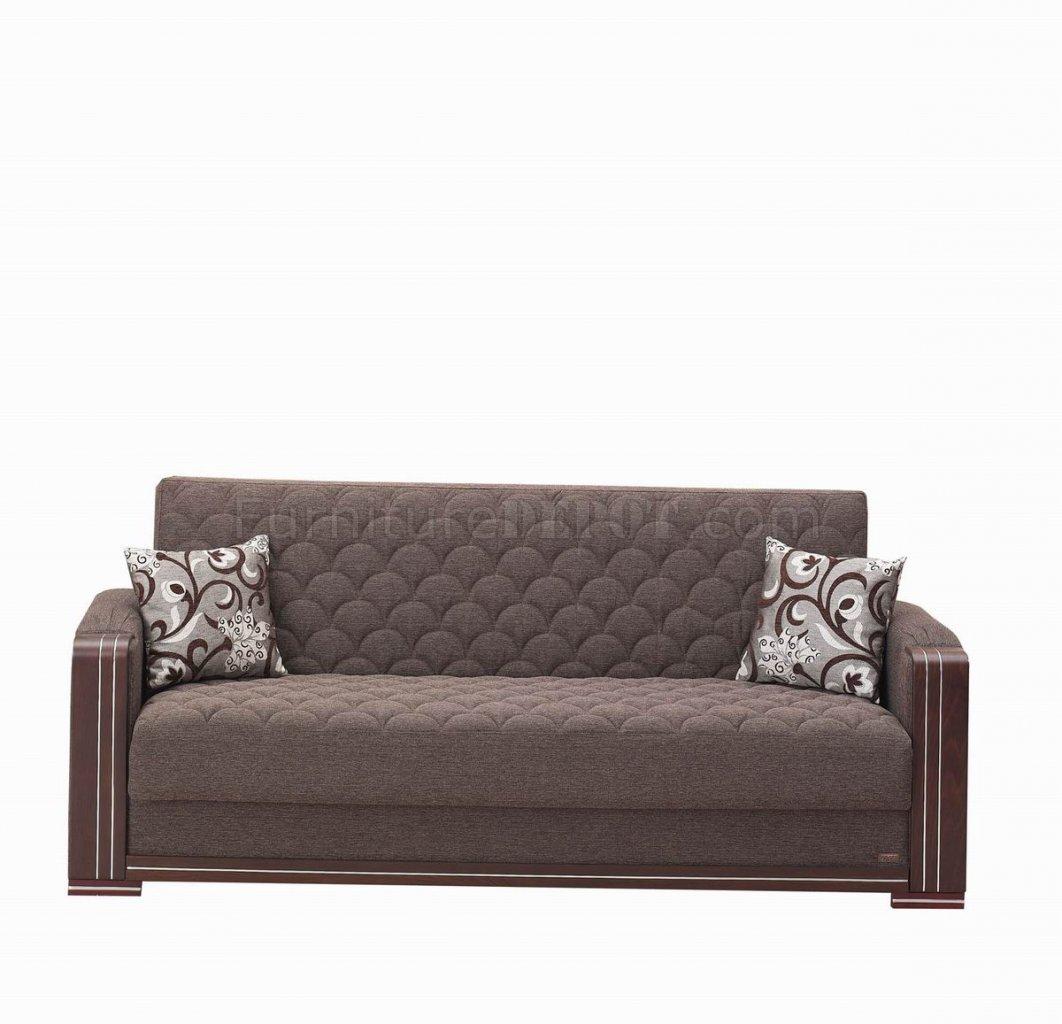 Oregon Sofa Bed In Dark Brown Fabric W/Optional Chair