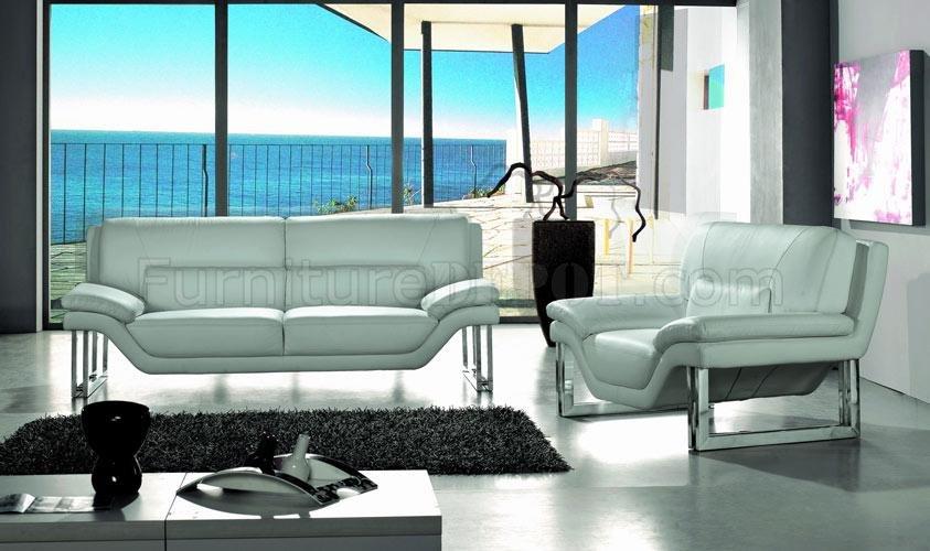 full top grain leather 3 piece modern living room set new york red