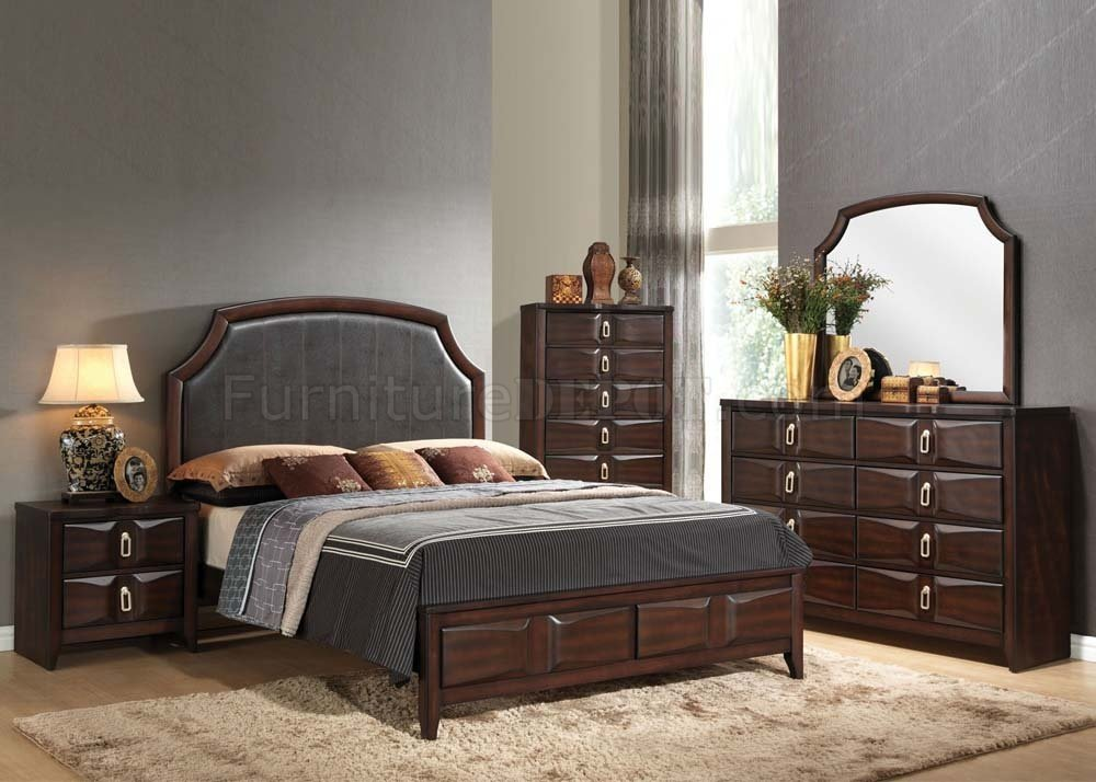 Lancaster Bedroom in Espresso by Acme w Options