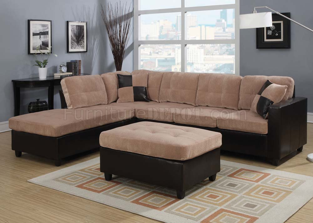 Milano Reversible Sectional Sofa by Acme