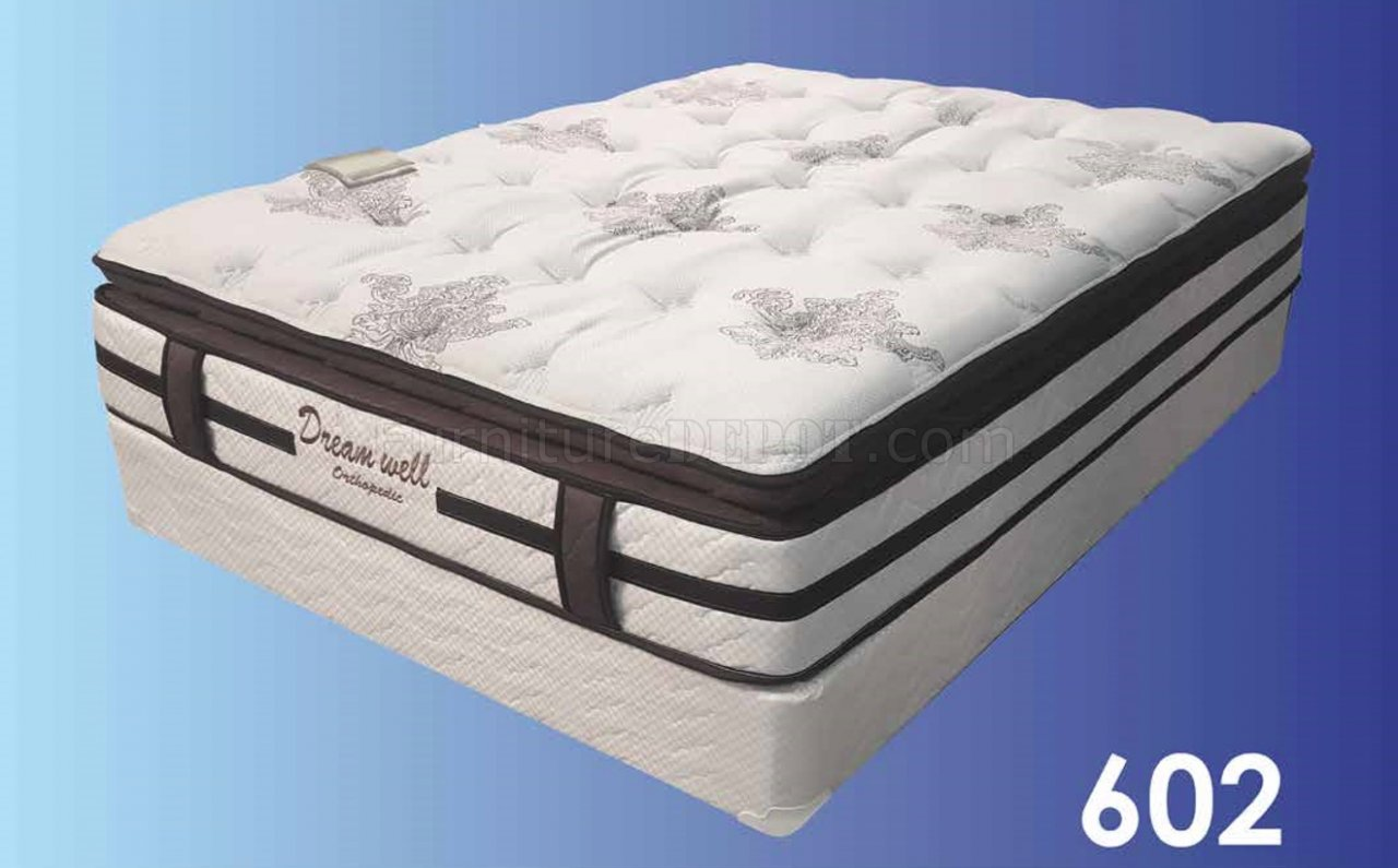 Pc 602 Orthopedic Pillow Top 15 Mattress By Dreamwell W Options