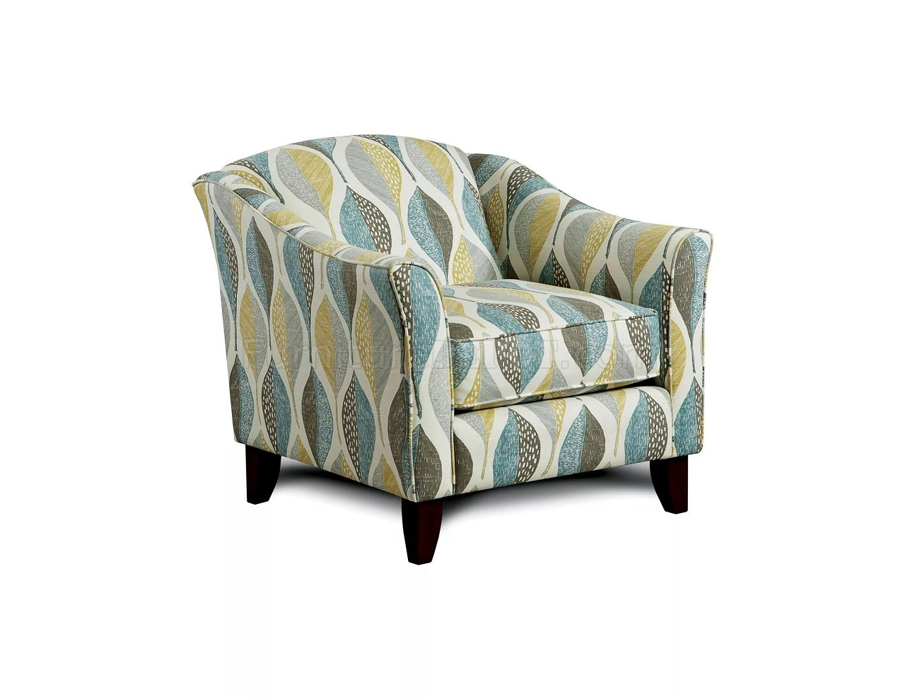 Brubeck Sofa Sm8140 In Light Teal Fabric W Options