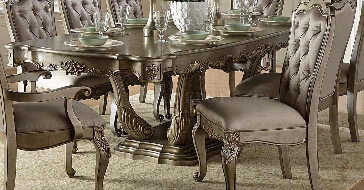 Florentina Dining Table 1867 102 By Homelegance W/Options