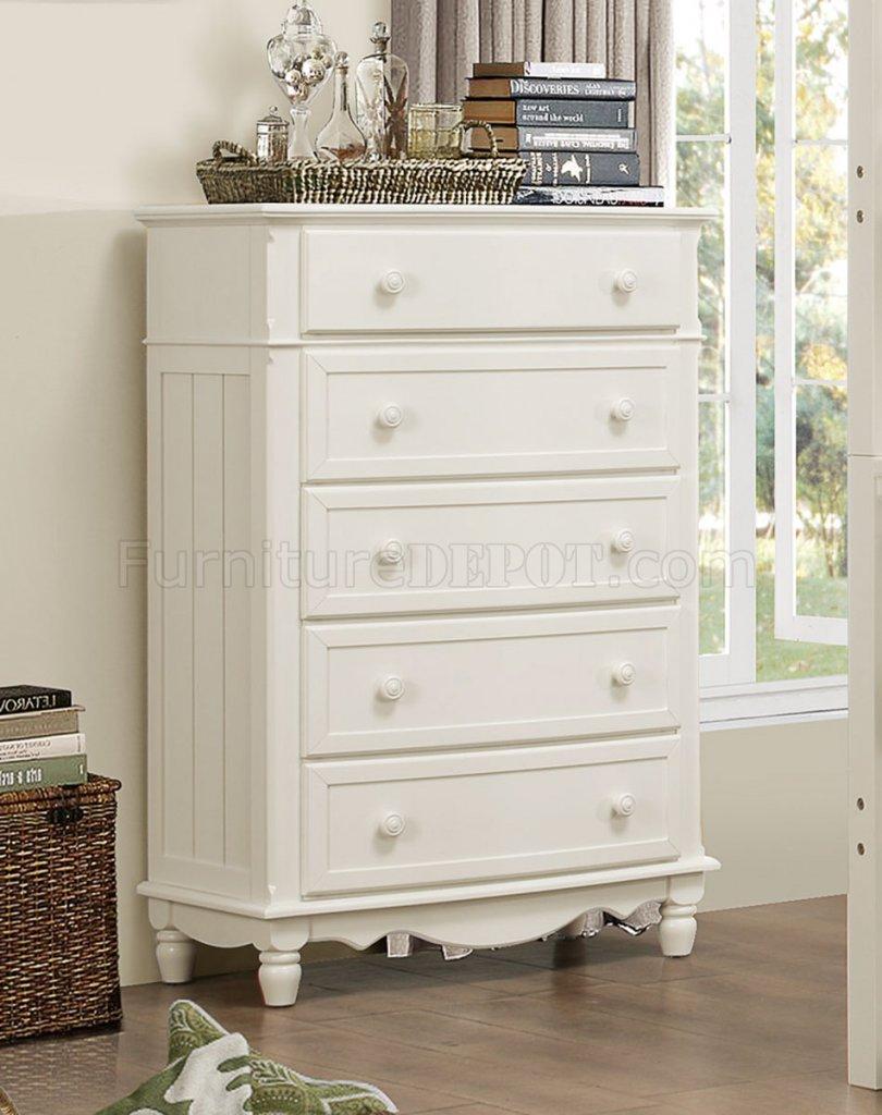 Homelegance Clementine White Postal Bedroom Set: Clementine B1799 Kids Bedroom In White By Homelegance W