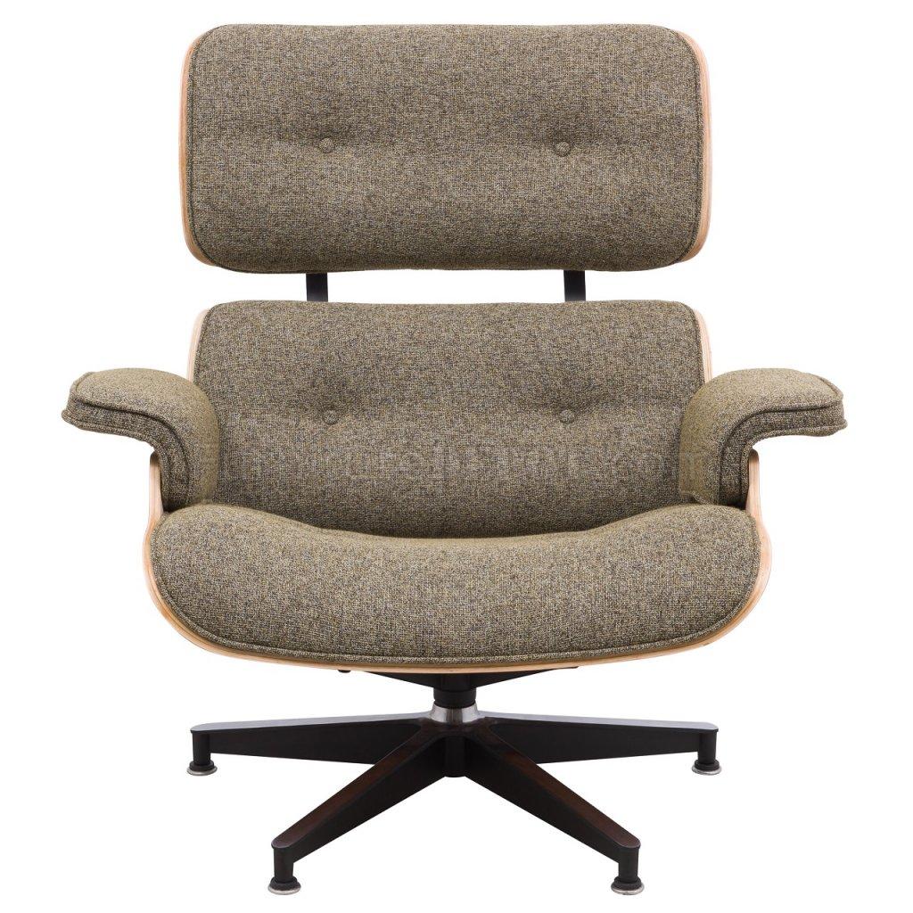 Zane Lounge Chair Amp Ottoman Set El35otw In Oatmeal By