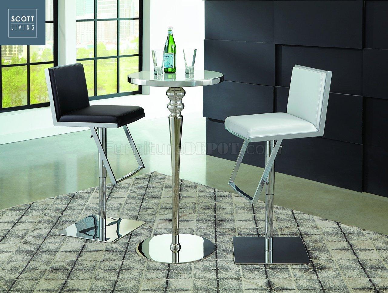Dixon Bar Table 3Pc Set 182031   Scott Living   Coaster