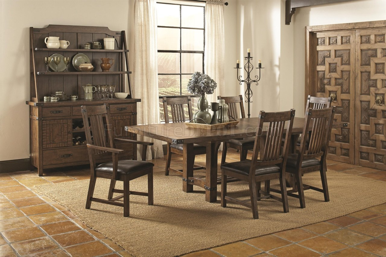 Padima 105701 Dining Table By Coaster W Optional Items