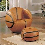 Kid S Sport Chair With Football Ball Shape