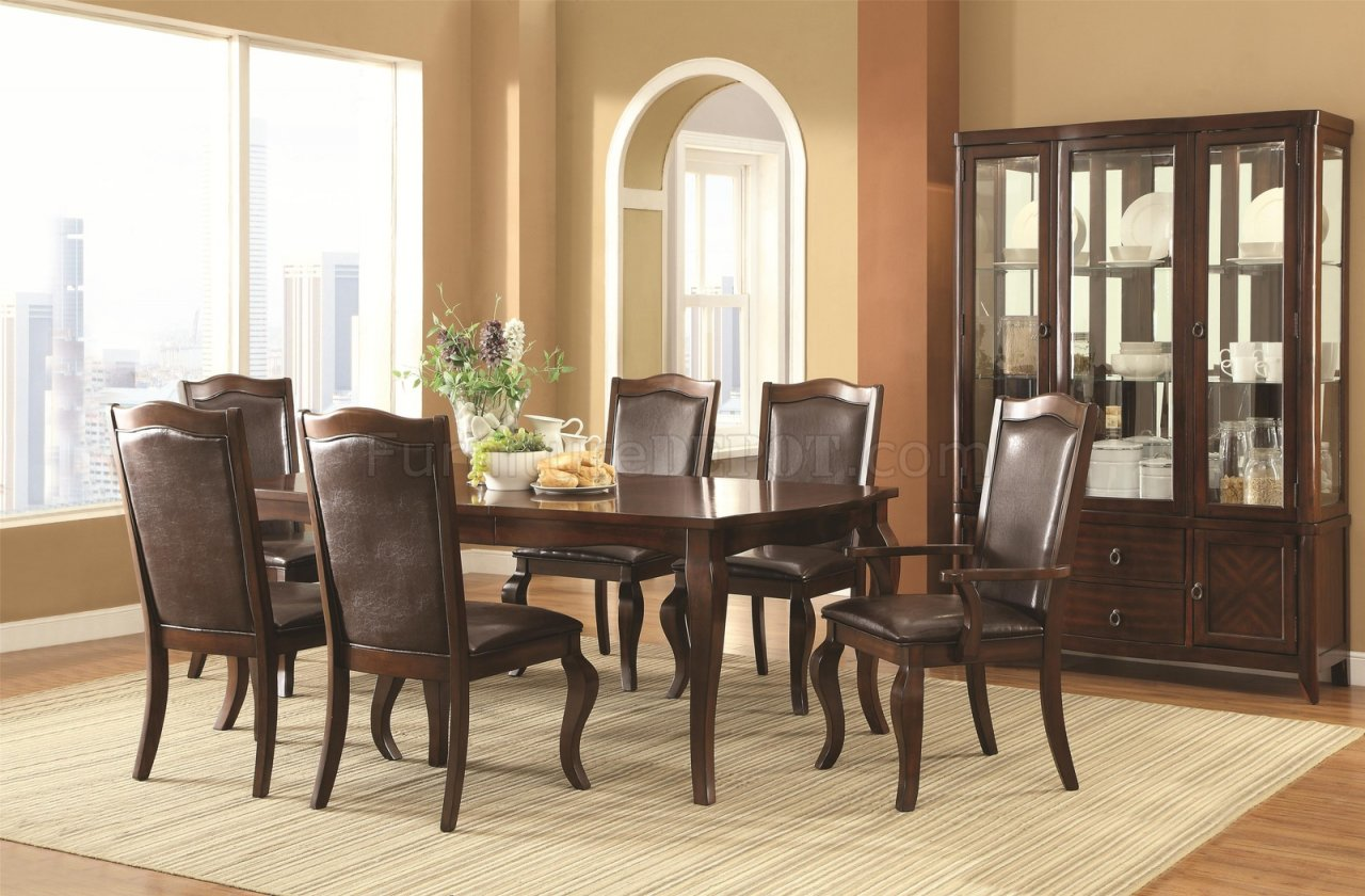 Louanna Dining Table 104841 In Espresso By Coaster W Options
