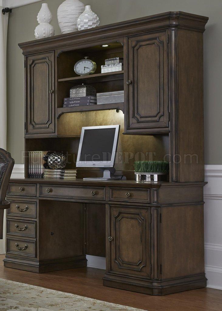 Amelia Jr Executive Desk 487 Hoj In Antique Toffee Byliberty